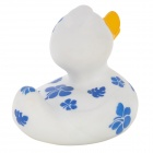 121203 Funny Floating Duck Style Bath Toy for Baby - White + Blue + Yellow