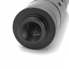 "6"" Durable Aluminum Alloy Suppressor Silencer for Airsoft - Black"