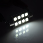 Festoon 41mm 2.5W 8-SMD 5050 High Power LED White Indicator / Reading Lamp (12V / 24V)