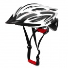 Laplace A5 Outdoor Sports Cycling Helmet w/ Channeled Vents - White + Black