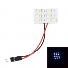1.5W 6000K 84lm T10 + BA9S + Festoon 12-SMD 1210 LED White Light Leselampe (DC 12V)