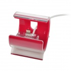 Data Sync / Charging Dock Ständer w / Lightning 8-Pin-Kabel für iPhone 5 - Purplish Red (95-Cable)