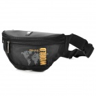 Oiwas 2927 Nylon Fashion Casual Water Resistant Waist Bag - Black
