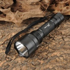 SMALL SUN ZY-T80 Cree XM-L T6 860lm 5-Mode White Flashlight - Black (1 x 18650)