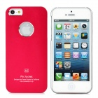 Protective Aluminum Alloy Back Case for iPhone 5 - Red