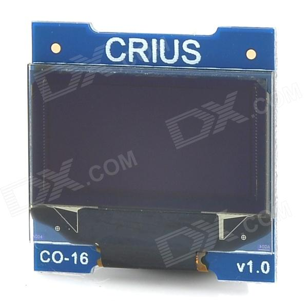 CRIUS CO-16 OLED Display Module for Telemetry / Debug MultiWii FC Flight Control Board - Blue