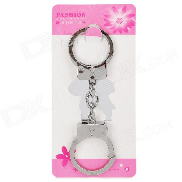Stainless Steel Mini Handcuff Keychain realleader м2 1005