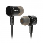 Apolok AP-CR066-3 Stylish In-Ear Earphones - Black (3.5mm Plug / 120cm)