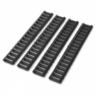 Tactical Nylon Ladder Rail Covers for M4 / M16 - Black (4 PCS)