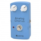 JOYO JF37 Analog Chorus Effect Pedal for Electric / Folk / Classical Guitar / Bass - Blue (1 x 6F22)