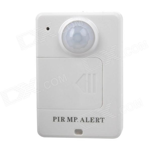 PIR MP.Alert Infrared Sensor Alarm Anti-theft Motion Detection GSM Alert - White