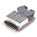 Lipo Battery Low Voltage Buzzer Alarm for RC Helicopter - White