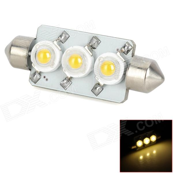 PointPurple S443WN Festoon 44mm 3W 245lm 3-LED White Light Car Lamps (DC 12V)