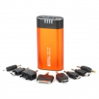 JD-1031 5000mAh Mobile Power Battery Charger w / LED / Handwärmer für iPhone + Mehr - Orange