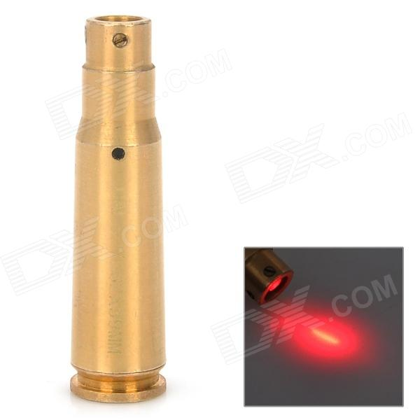 7.62 x 39mm Cartridge Red Laser Bore Slighter - Bronze (635~655nm / 3 x AG3)