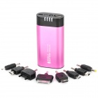 JD-1031 5000mAh Mobile Power Battery Charger w / LED / Handwärmer für iPhone + Mehr - Purple