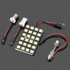 T10 BA9S Festoon 31mm~41mm 12W 7200K 1080lm 24-SMD 5060 White Steering / Reading Lamp (DC 12V)