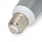 Aluminum Alloy E27 7W 560lm 6000-6500K 7-LED White Light Bulb Spot Lamp - Silver (85~265V)