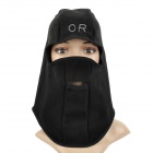 AMT-025 Outdoor Motorcycle Riding Anti Wind / Dust Polar Fleece Warm Face Mask - Black