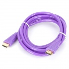 G1204 1080p FHD HDMI V1.4 Male to Male Connection Cable - Purple (180cm)