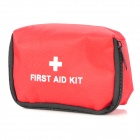 Outdoor 11 in 1 Emergency First Aid Kit Bag - Red