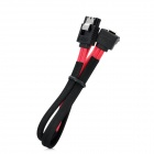 VSO SATA 3.0 Data Cable - Red + Black (40cm)