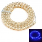 96W 480nm 672lm 96-LED Blue Light Car Chassis Flexible Lamp Strip (12V / 96cm-Kabel)