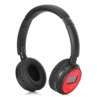 "XF-328 Stylish 1.3"" LCD Stereo Headphones MP3 Player w/ FM / TF Card Slot - Black + Red"
