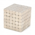 NH-216A DIY 5mm Square Neodymium Magnets - Silver (216 PCS)