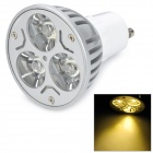 GU10 3W 210lm 330K 3-LED Warm White Light Bulb (175~265V)