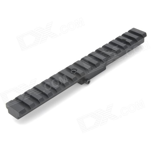 D0013 Aluminum Alloy Extension Gun Rail Mount for M40 / M16 - Black
