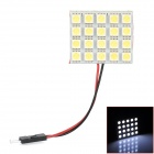 6W 20-5050 SMD LED Car Reading / Interior / Dome Light w/ T10 / BA9S / Festoon 42mm Connectors