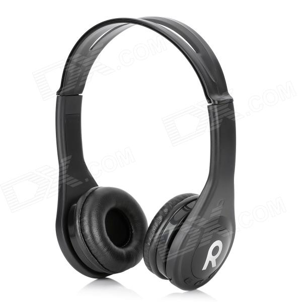 цена KS-509 MP3 Player Stereo Headset Headphones w/ TF Card Slot / FM - Black
