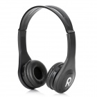 KS-509 MP3 Player Stereo Headset Headphones w/ TF Card Slot / FM - Black