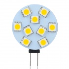 G4 1.6W 3200K 117lm 9-SMD 5050 LED Warm Light Household Lighting Lamp - (8~30V)