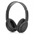 KS-508 MP3 Player Stereo Headset Headphones w/ TF Card Slot / FM - Black