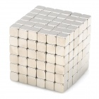 NH-216B DIY 4mm Square Neodymium Magnets - Silver (216 PCS)