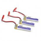 Tiger 5001s 1S 3.7V 15C 600mAh Li-ion Polymer Battery Pack for R/C Aircraft + More (3 PCS)