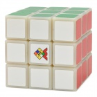 High Quality Speedy 3x3x3 Brain Teaser Magic IQ Cube - Red + Yellow + Orange + White + Blue + Green