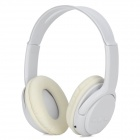 KS-508 MP3 Player Stereo Headset Headphones w/ TF Card Slot / FM - White