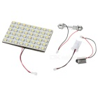 T10/BA9S/Festoon 2.88W 12V 48-LED Car Ceiling Dome White Light Bulb