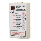 PC Monitor Display Test VGA Signal Generator - White 