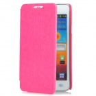 KALAIDENG Protective PU Leather Case for Samsung Galaxy S2 i9100 - Deep Pink