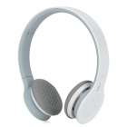 Rapoo H6060 Wireless Bluetooth V2.1 Stereo Headphones w/ Mic + Touch Volume Control - White + Grey