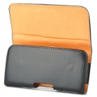 Protective PU Leather Case w/ Belt Clip for Samsung Galaxy S3 i9300 - Black