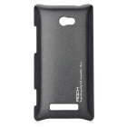 ROCK Protective PC Back Case for HTC 8X - Black