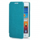 KALAIDENG Protective PU Leather Case for Samsung Galaxy S2 i9100 - Green
