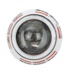 H1 H7 H4 9005/9006 35W 2800lm HID Xenon Faróis Branco w / Red & White Eye 2-Angel (12V / 2 PCS)