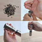 L2 Stainless Steel Pepper Mill - Silver