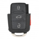 AML030605 Automobile 4-Button Remote Control Key Case for Volkswagen Passat - Black
